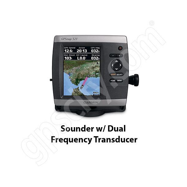 garmin gpsmap 521s sounder with dual frequency transducer rh gpscity ca