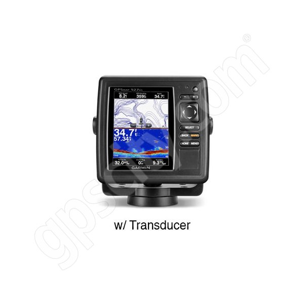 Garmin GPSMAP 527xs with Dual Frequency Transducer