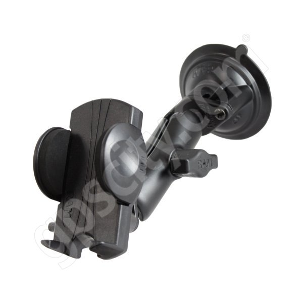 RAM Mount Universal Small Cradle Locking Suction Cup Mount