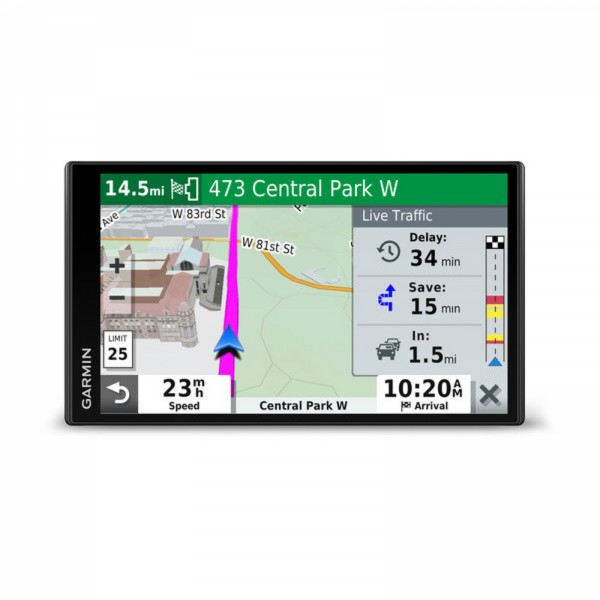 DriveSmart 65LMT 6 95 inch Screen Automotive GPS with Lifetime Maps of  North America and Traffic