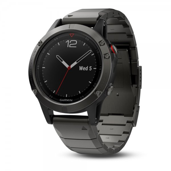 Black Slate Band : Garmin fenix slate gray sapphire with metal band