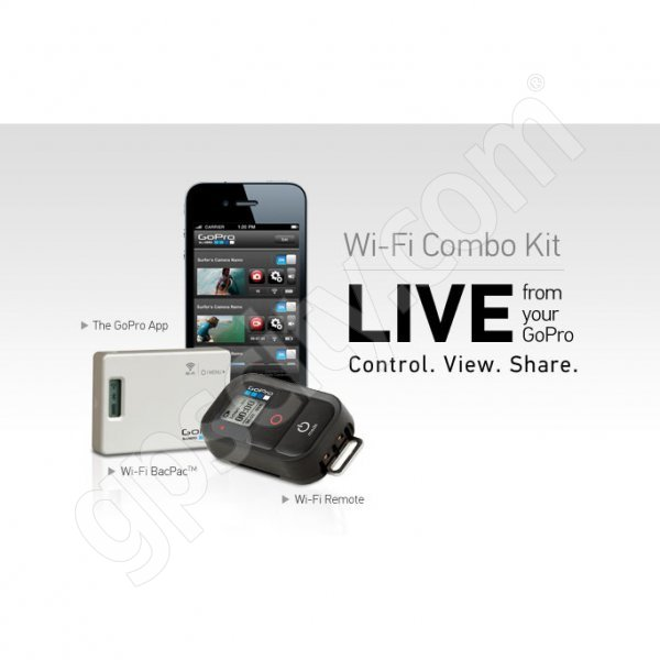 GoPro Wi-Fi BacPac and Wi-Fi Remote Combo Kit Additional Photo #1