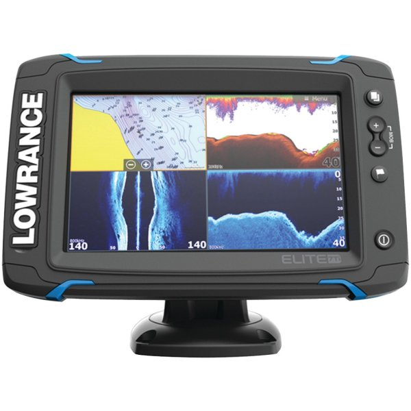 lowrance elite 7 ti touchscreen with totalscan transducer. Black Bedroom Furniture Sets. Home Design Ideas