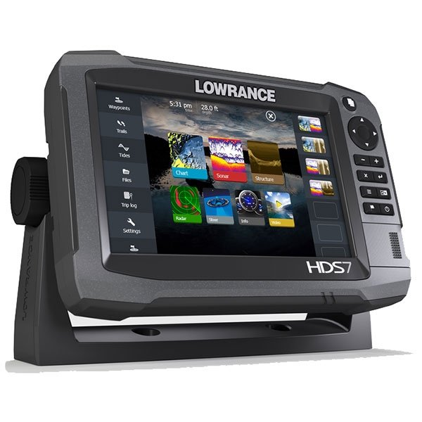 lowrance hds 7 gen3 insight usa with 83 200 khz transducer. Black Bedroom Furniture Sets. Home Design Ideas