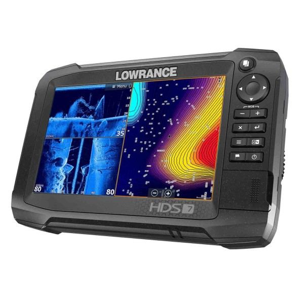HDS-7 Carbon ROW with Total Scan Transducer