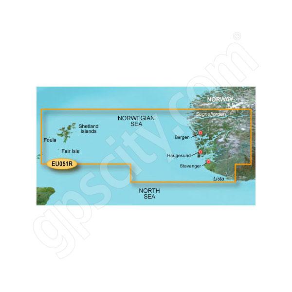 Garmin microSD Card BlueChart g2 Vision HD VEU051R