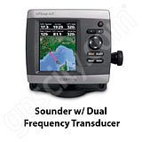 Go to the Garmin GPSMAP 421s Sounder with Dual Frequency Transducer page.