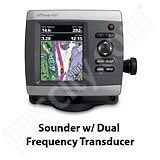 Go to the Garmin GPSMAP 441s Sounder with Dual Frequency Transducer page.