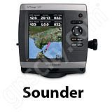 Go to the Garmin GPSMAP 521s Sounder page.