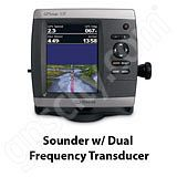 Go to the Garmin GPSMAP 531s Sounder with Dual Beam Transducer page.