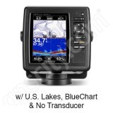 Go to the Garmin GPSMAP 547xs with Preloaded U.S. Lakes and BlueChart g2 without Transducer page.