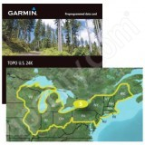 Garmin TOPO US 24K Northeast DVD