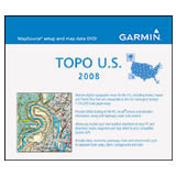 Garmin Topographic 2008 100K USA DVD Mac and Windows