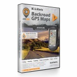 Backroad GPS Maps DVD for Alberta and British Columbia
