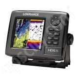 Go to the Lowrance HDS-5 Gen2 Nautic Insight Fishfinder and GPS Chartplotter with Transducer page.