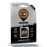 Backroad GPS Maps Alberta and British Columbia microSD with SD Adapter