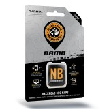 Backroad GPS Maps New Brunswick microSD with SD Adapter