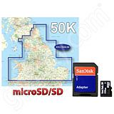 Garmin TOPO Great Britain 50K Northern England and Midlands microSD Card