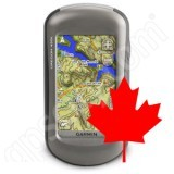 Garmin Oregon 450 with Canada Topo DVD