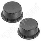 RAM Mount Mini Black Rubber Adhesive Bumper 2 Pack