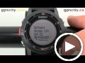 garmin fenix: about screen