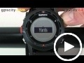 garmin fenix: unit settings
