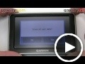 garmin nuvi 2300: diagnostics screen