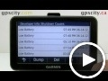 garmin nuvi 30 40 50: diagnostics screen