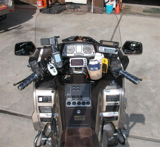 Goldwing Motorcycle Mounts Gallery Article