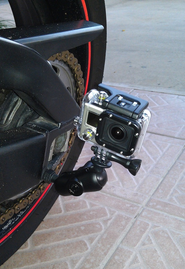 Swingarm Mounting Option For Gopro Gallery Article