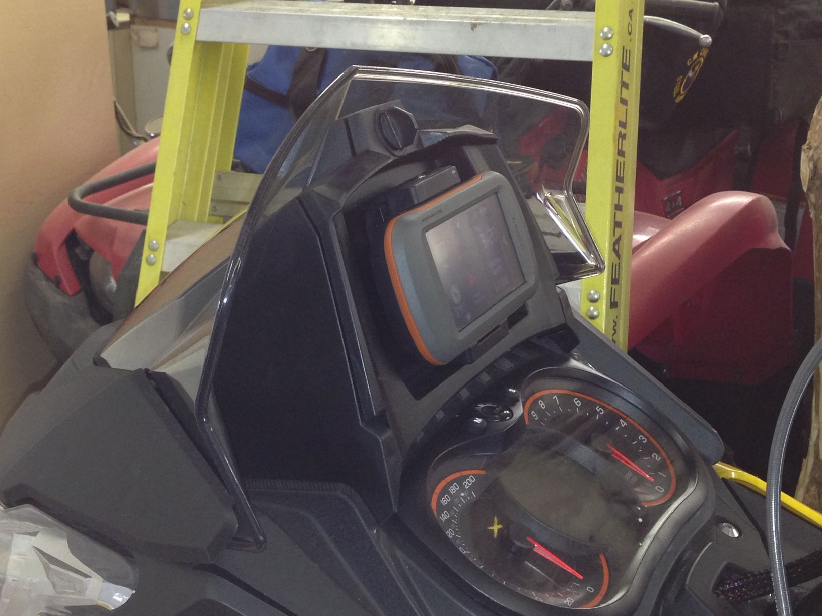 Skidoo Gps And Mount Photos And Articles