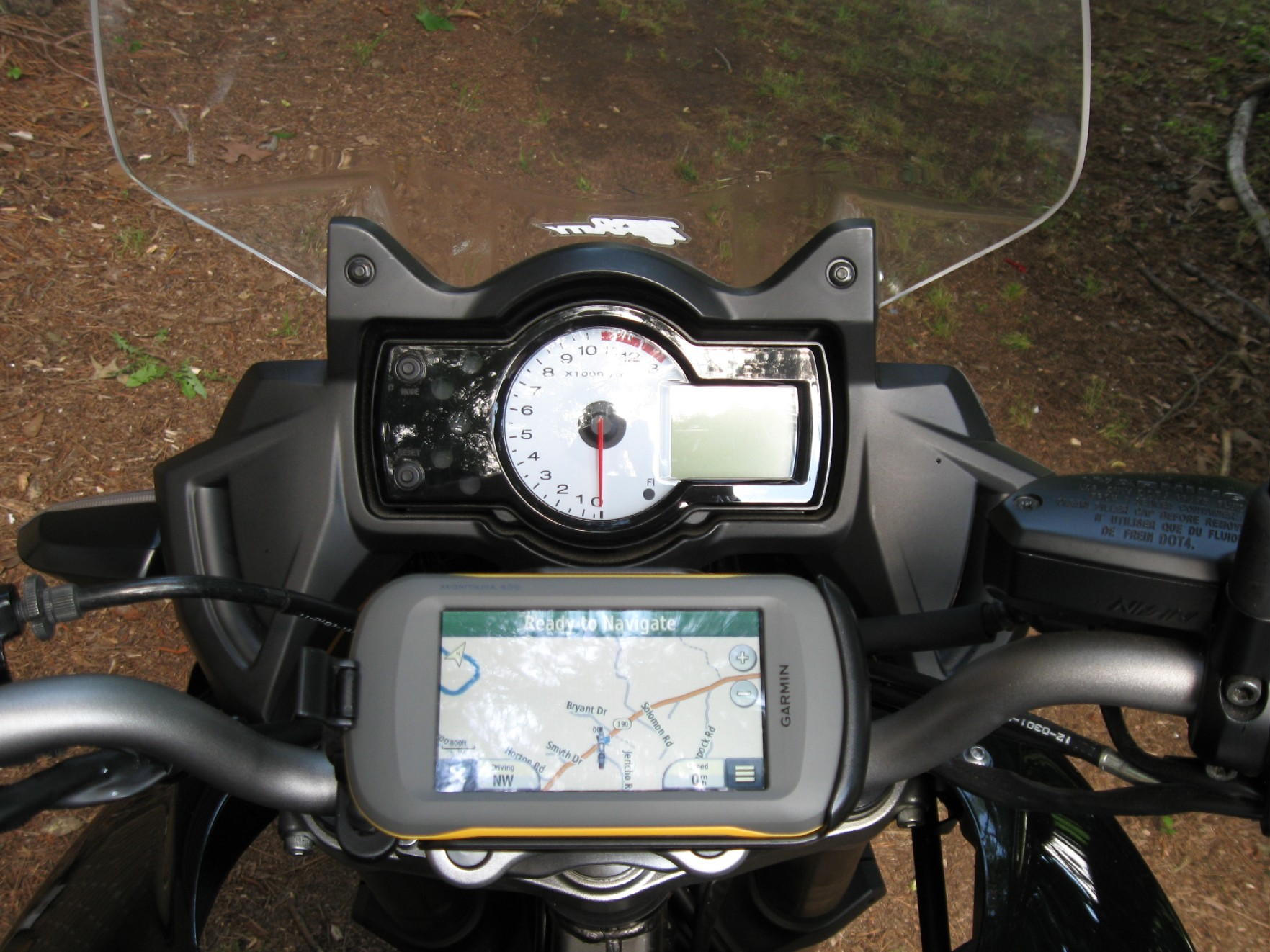 Motorcycling with Garmin Montana 600 Gallery Article