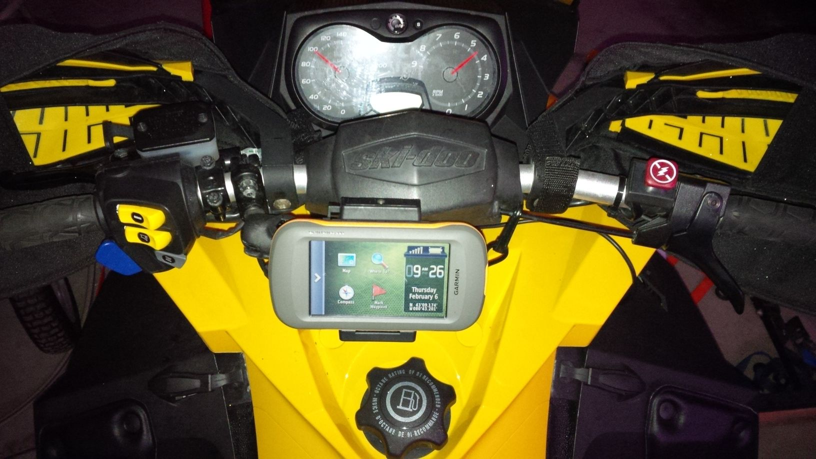 Skidoo Gps And Mount Photos Articles 2010 Ski Doo Renegade Wiring Diagram Montana On