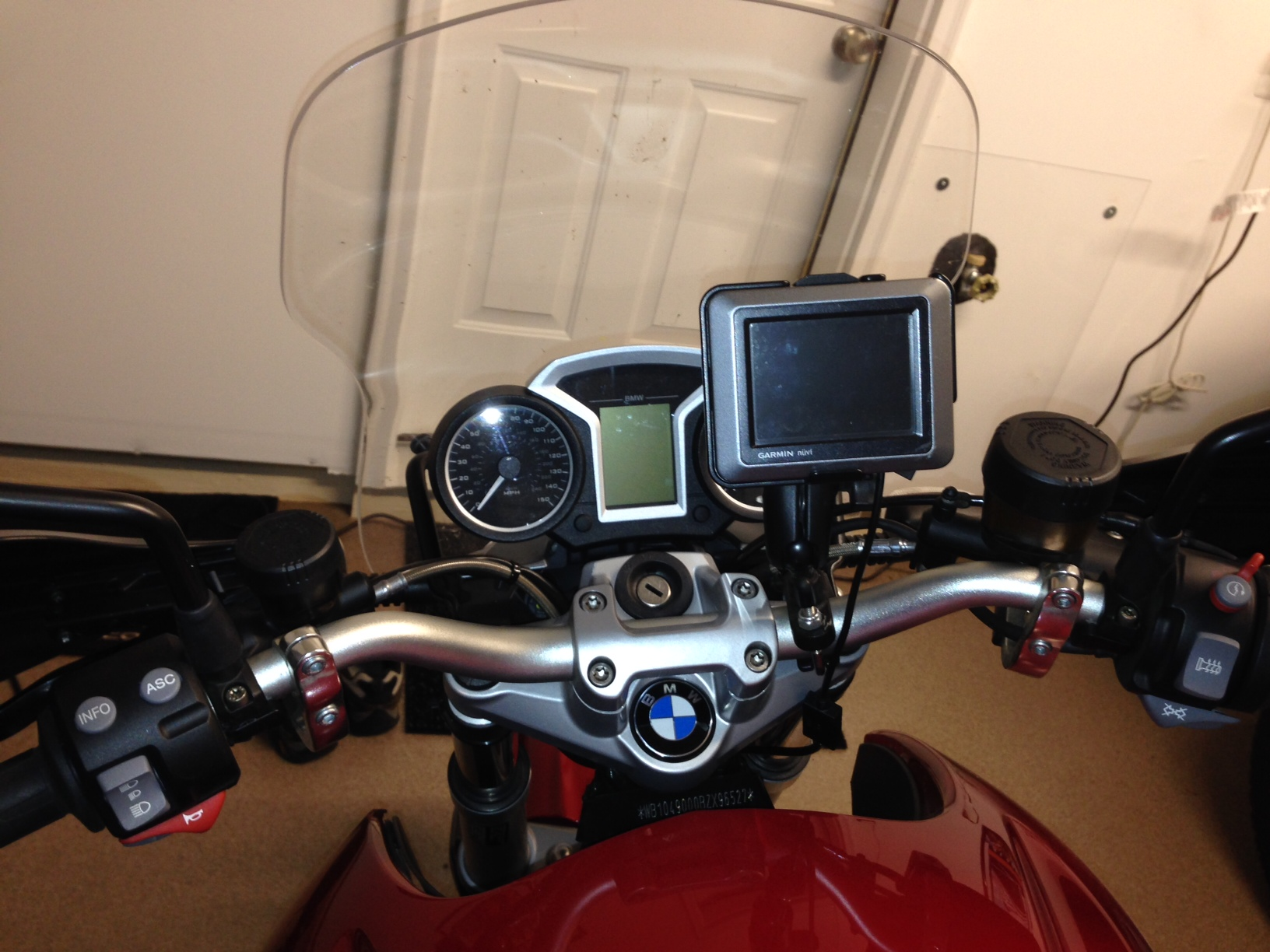wiring your gps to a bmw motorcycle gallery article. Black Bedroom Furniture Sets. Home Design Ideas