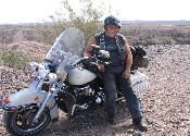 2002 Police Special where a Harley shouldn't be.. the desert.