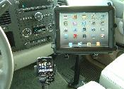 Ipad in 2011 GMC Sierra